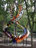 Image for Butterfly sculpture set for botanical gardens - Grapevine, TX