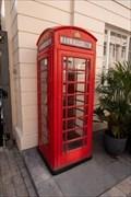 Image for Red Telephone Box - Motcomb Street. London, UK