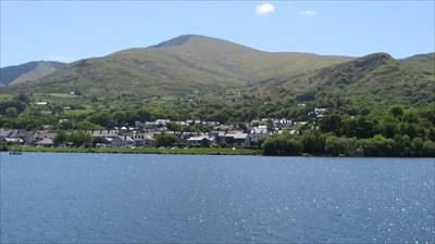 Llyn Padarn Lake - Llanberis, Snowdonia.