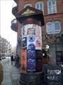 Image for Plakatsøjle Christian IX's Gade/Møntergade, København - Denmark