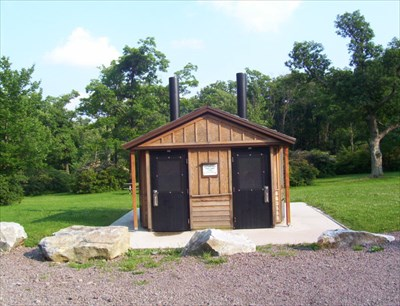 Second Latrine Built Here (2003)