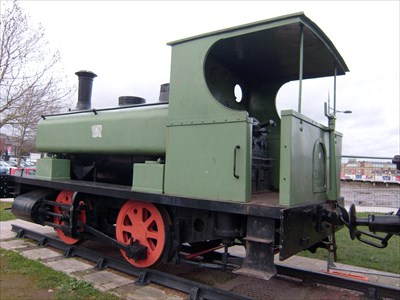 Andrew Barclay 0-4-0 Steam, No.1260, Built 1911, Newport, Wales.