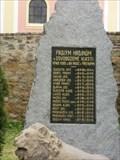 Image for World War Memorial - Pristoupim, Czech Republic