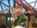 Image for 'Tigris, Florida's tallest launch roller coaster, opens this month at Busch Gardens' - Busch Gardens, Tampa, FL.