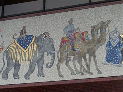 Circus Mosaic - Sarasota.