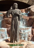 Image for Jesus - Divine Mercy Fountain - Groom, Texas, USA.