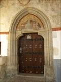 Image for Portál kostela Nanebevzetí Panny Marie, Kájov, Czech republic