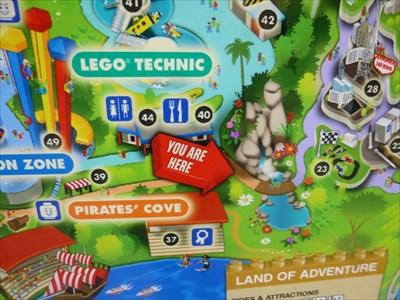 Legoland Map Florida.Footpath Legoland Florida You Are Here Maps On Waymarking Com