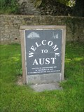 Image for Aust - Welcome Sign