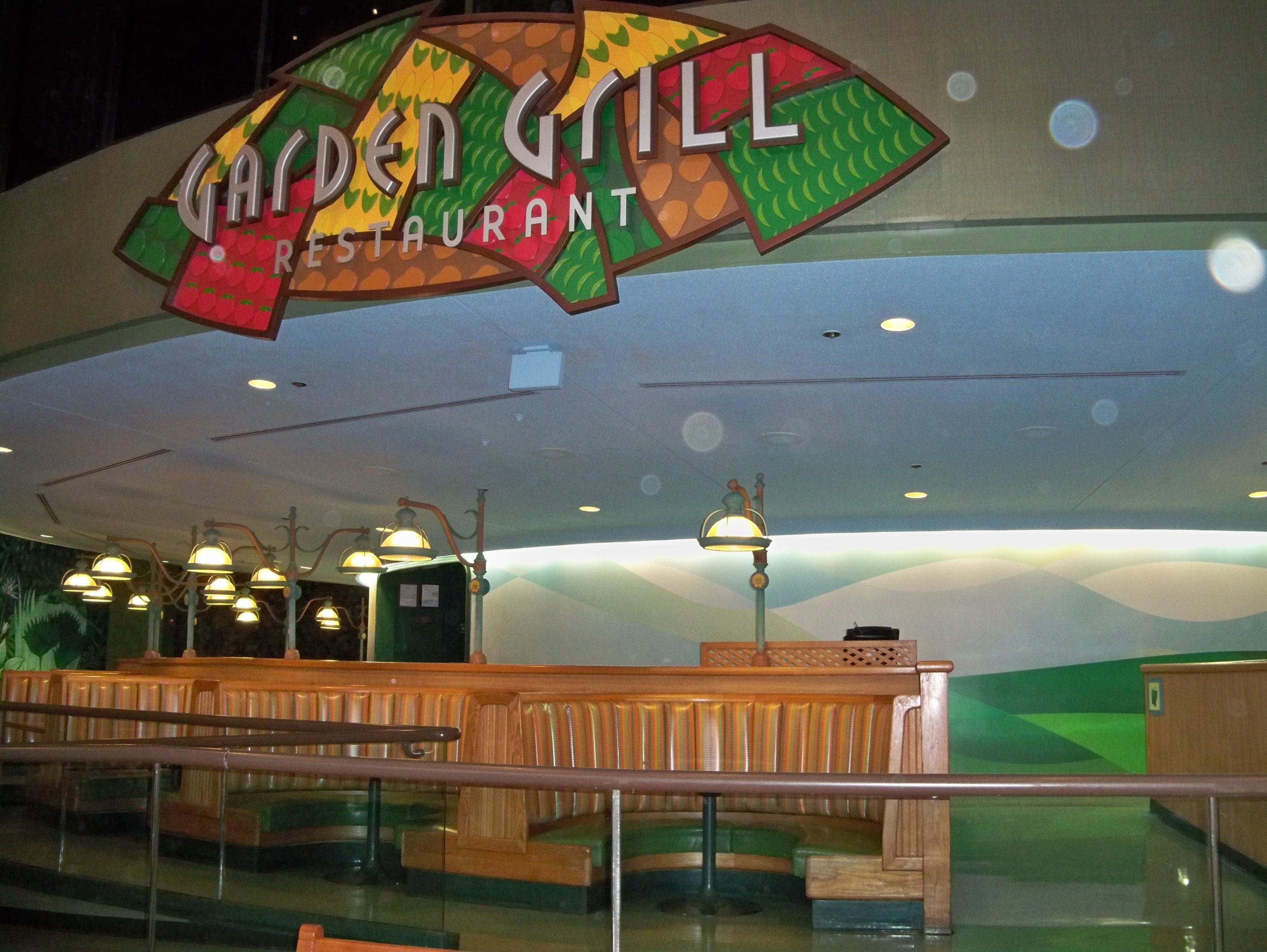 garden grill restaurant epcot disney world fl image - Garden Grill