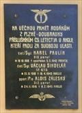 Image for Memorial plaque of Czech pilots - Plzen-Doubravka, Czech Republic