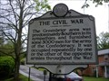 Image for The Civil War / Confederate Cemetery