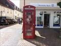 Image for Red Telephone Box Hofheim, Hessen, Germany