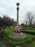 Image for Combined WWI and WWII fleury cross - St Peter & St Paul - Borden, Kent