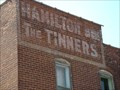 """Image for """"Hamilton Bros The Tinners"""" Ghost Sign - Princeton, IN"""