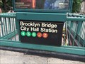 Image for Brooklyn Bridge / City Hall Subway Station - New York, NY
