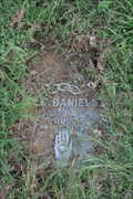 Image for J. W. Daniels -- Oakwood Cemetery, Fort Worth TX