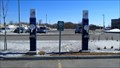 Image for Bornes de recharge de véhicules électriques à la SAQ / SAQ parking charging station - Québec, Qué. Canada