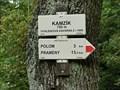 Image for Elevation Sign - Kamzik.750m
