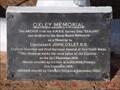 Image for Oxley Memorial - Hallsville, NSW, Australia