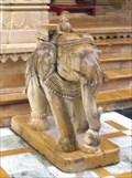 Image for Chintamani Parswanath Jain Temple Guarding  Elephants - Haridwar, Uttarakhand, India