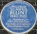Image for Wilfrid Scawen Blunt - Buckingham Gate, London, UK