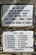 Image for WWI Memorial - St Michael & All Angels Church - Dafen, Carmarthenshire, Wales.