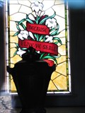 Image for Riesenberg Mausoleum Stained Glass - Bellefontaine Cemetery - St. Louis, Missouri
