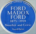 Image for Ford Madox Ford - Campden Hill Road, London, UK