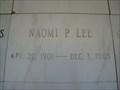 Image for 102 - Naomi P. Lee - Jacksonville, FL