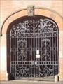 Image for Nottingham Waterworks Company Gates - Nottingham, Nottinghamshire, England, UK.