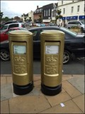 Image for Gold Post Box - Paralympian James Roe - Medal Winner London 2012