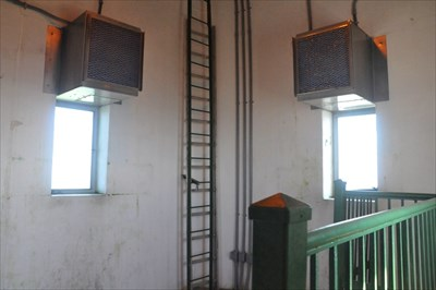 The highest point visitors can go inside the Monument at High Point NJ