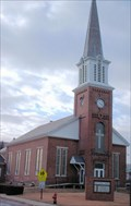 Image for First Baptist Church Clock  -  Claremont, NH