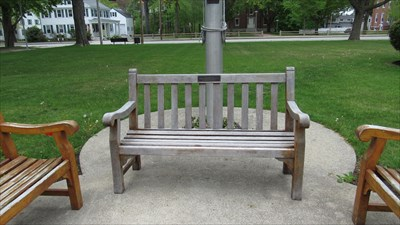 Denver Moorehead Yarmouth Maine Dedicated Benches on