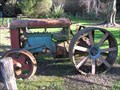 Image for Ford Tractor. Norsewood. New Zealand.