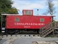 Image for Chesapeake & Ohio No. 3549 - Hagerstown, Maryland