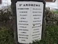 Image for Stone Direction Waymarker - Brownhills, St Andrews, Fife.