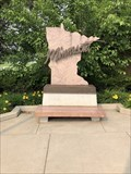 Image for Rest Area Artistic Bench - Moorhead, MN