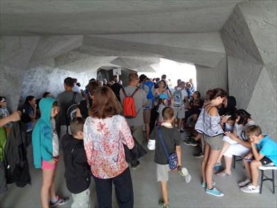Entrance Cave (ticket control)