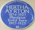 Image for Hertha Ayrton - Norfolk Square, London, UK