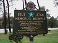 Image for Blue Star Memorial - I 81 (South Bound) - Falling Waters, West Virginia