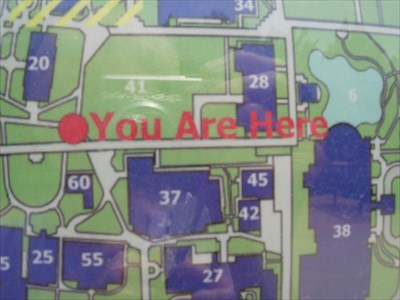 You Are Here At Evans Hall Uco Campus Edmond Ok You Are Here