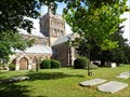 Image for St Cuthburga's - Churchyard - Wimborne Minster, Dorset, UK