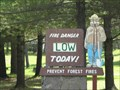 Image for Smokey The Bear - Marchand Fire Base, Manitoba