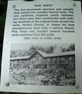 "Image for ""Five Tents"" - Rapidan Camp - Shenandoah National Park, Virginia"