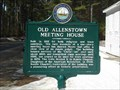 Image for Old Allenstown Meeting House/Meeting House Burying Ground - Allenstown, NH
