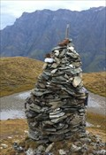 Image for Cairn at Tomülpass - Safien, GR, Switzerland