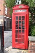Image for Red Telephone Box - Scott Ellis Gardens, London, UK