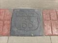 Image for Route 66 Commemorative Strip - Tulsa, Oklahoma, USA.